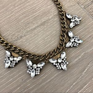 Sole Society Crystal Statement Necklace